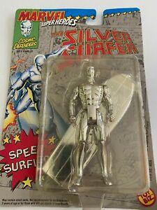MARVEL SUPER HEROES SILVER SURFER ACTION FIGURE TOY BIZ 1992 UNOPENED