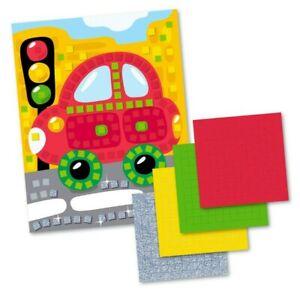 Car Craft Set (4 colors, 200 elements) Applique Kit