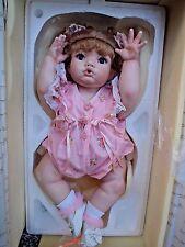"Cindy Marschner Rolfe ALL Porcelain Baby Doll Blossom 22"" Limited Edition 1995"