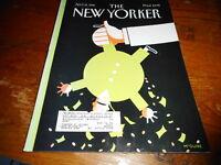 APRIL 15 1996 NEW YORKER vintage magazine - TAXES