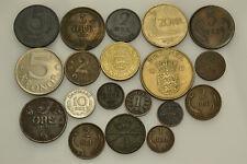 LANZ Skandinavien Lot von 19 verschiedenen Münzen #WV61990