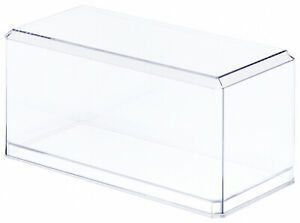 "Pioneer Plastics Clear Acrylic Case for 1:32 Scale Cars, 8"" x 3.75"" x 3.875"""