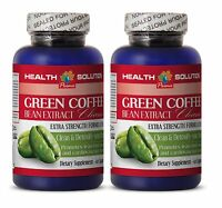 Slows Absorption Of Fat - Green Coffee Cleanse 400 - Pure Green Coffee Bean 2B