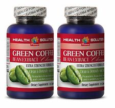 Burn Stored Fat Supplements - Green Coffee Cleanse 400mg - Green Coffee 2B