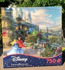 Thomas Kinkade Sleeping Beauty Dancing in the Enchanted Light 750 Ceaco Puzzle