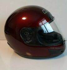 HJC Snowmobile Helmet large with visor. Very good condition! Burgundy Full face