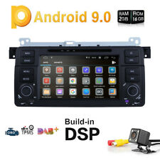 """For BMW E46 320/325 7"""" GPS Android 9.0 Car Radio DVD Player Stereo 4-Core 2+16GB"""