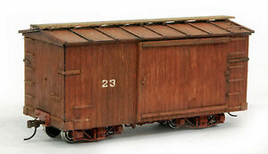 BANTA MODELWORKS 18 FOOT WOOD BOXCAR CONVERSION On30 Railroad Laser Kit BMT2141