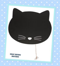 Cat Chalkboard Blackboard With Chalk Kitchen Memo Message Notice Board