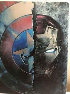 Captain America Civil War steel book