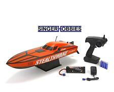 "Pro Boat Stealthwake 23"" Brushed Deep-V RTR Radio Control Boat PRB08015 HH"