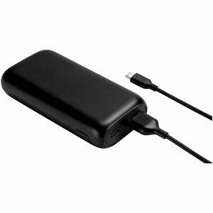 *NEW* Onn Portable LED Battery Power Bank 6,700 mAh Black  w/ Micro USB Cable