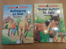 2 Bücher Reiterhof Birkenhain - Aufregung im Stall/Großer Auftritt für Sally