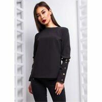 Women T-Shirt Chiffon Long Sleeve Office Lady Shirt Top Ladies Fashion Blouse