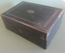 BOITE A COUTURE palais royal EN BOIS NAPOLEON III ANTIQUE FRENCH SEWING BOX