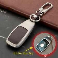 Remote Key Case Bag Holder Fob Shell Chain Cover For Benz E-Class W213 2016-2018