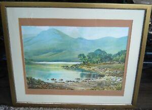 """21st C Landscape Watercolour """"Ullswater"""""""