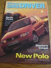 VOLKSWAGEN auto & driver Opuscolo numero 17 Inverno 1994 1957 Split Camper, JM