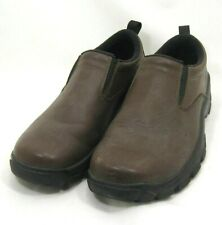 Nice Lands' End Brown Leather Loafers Shoes Mens Sz 9 M US  42 EU