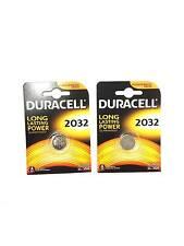 Pack de 2 Pile Duracell CR2032/DL2032 Batterie Lithium 3V PRIX MINI !!!