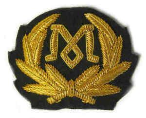 Titanic Marconi Radio Operators Cap Badge Wreath Hat White Star Line 1912 New
