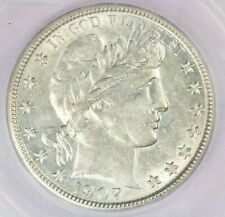 1907-O Barber Half Dollar ICG AU58 FLASHY!