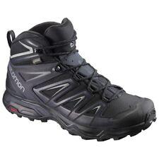 a681877eb8ef Salomon L39867400 Mens X Ultra 3 Mid GTX Hiking Shoes Black 9 M US