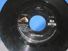 ELVIS PRESLEY JUDY B/W THERE'S ALWAYS ME RCA 47-9287 45  CLEAN VG=
