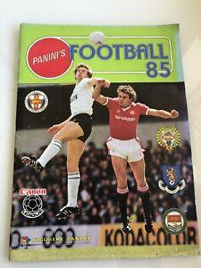 Panini Football 85 sticker album - 100% Complete