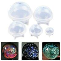 Silicone ball resin mold pendant 3d epoxy resin jewelry making craft Z1Q2