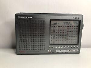Kaito KA1103 FM Stereo, SW, MW, LW Digital World Receiver with SSB