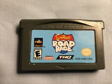 Simpsons Road Rage (Nintendo Game Boy Advance, 2003) Game Only Tested