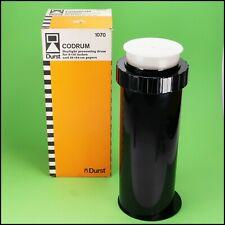 Durst Codrum 205 Paper Developing Drum Tank 18x24cm / 8x10 inch No Leaks Boxed