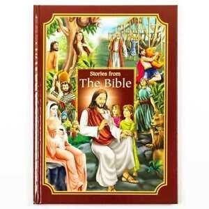Enfants Stories De The Bible Relié Illustrée Bedtime Story Book 489BICB