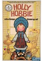 HOLLY HOBBIE Colorforms Dress-Up Set 2017 Official Reproduction of vtg 1975 NIB