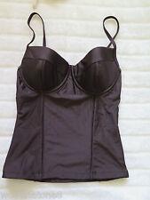 2 Chillies Swimwear Australia 8 Ladies Balconette Tankini CHOCOLATE RRP $69.95