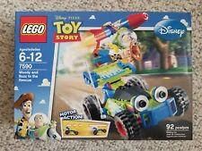 Lego 7590 Disney Pixar Toy Story Woody and Buzz to the Rescue New Sealed Retired