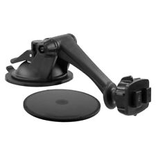 "Sticky Suction Windshield or Dash Mount with 3"" Arm for Dual-T Holders & Devices"