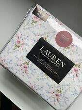 Lauren RALPH LAUREN Floral Pink DAISY COTTAGE CHIC - KING SHEET SET
