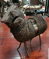 Early 20th Century American Primitive Folk Art Ram Sculpture