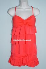 KENNETH COLE Swimsuits Size L 2-PC Tiered Tankini Ruffles Skirt Set NWT