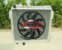 3 ROW FOR TOYOTA HILUX LN85 LN60 LN61 LN65 2.4L DIESEL 84-91 ALLOY RADIATOR& FAN