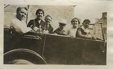 PHOTO ANCIENNE - VINTAGE SNAPSHOT - VOITURE DÉCAPOTABLE TACOT AUTOMOBILE - CAR