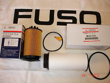 MITSUBISHI FUSO CANTER OEM OIL AND FUEL FILTER KIT QC000001 & MK667920