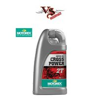 Motorex Cross Power 2T Fully Synthetic 2Stroke Oil Premix 1 Litre SX50 SX65 SX85