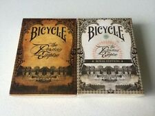 Set of 2 BICYCLE THE PERSIAN EMPIRE Standard & Royal Edition Playing Card Decks