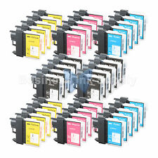 40 PACK LC65 Ink Set for Brother MFC-5890CN MFC-5895CW MFC-6490CW MFC-6890CDW