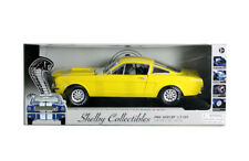 1966 FORD SHELBY MUSTANG GT350 FASTBACK 1/18 YELLOW