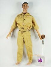 DA172 Action Figure 1 6 Ww2 German British US Military Desert Tarn Uniform Suit
