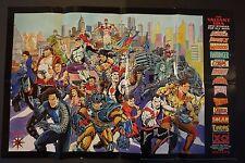 1993 Valiant Era Comics Poster - Signed!!